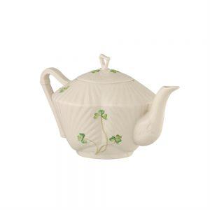 Belleek Classic Shamrock Teapot