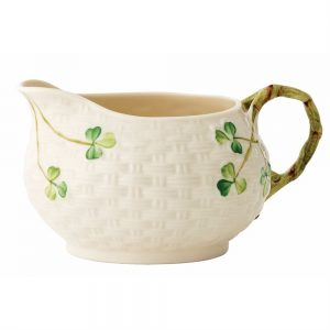 Belleek Classic Shamrock Cream Jug