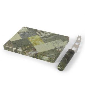 Connemara Marble Cheese Board & Knife