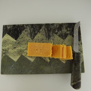 Connemara Marble Cheese Board with Knife