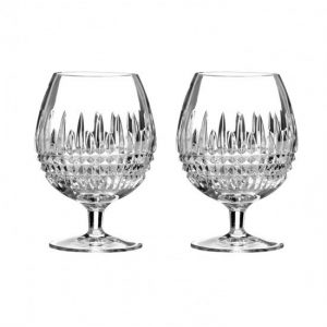 Waterford Lismore 2 Brandy Glasses