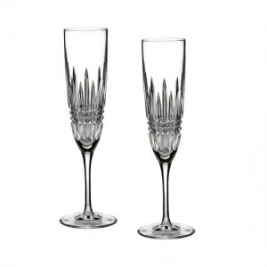Waterford Lismore Flute Set
