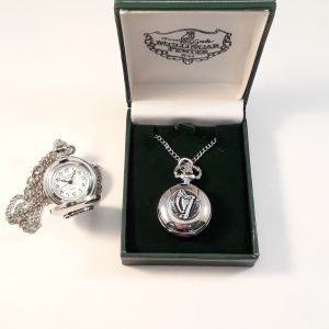 Ladies Harp Pendant Watch